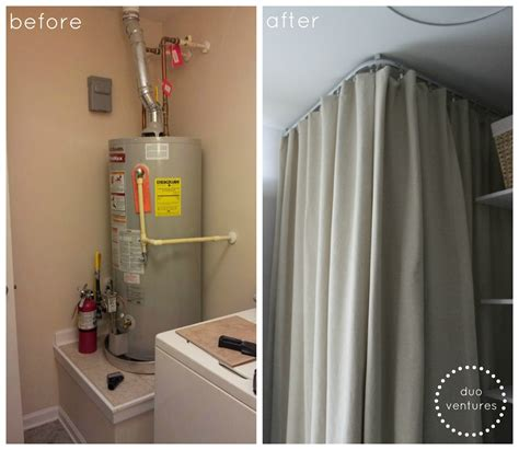 Ikea Room Divider Curtain by Duo Ventures How To Hide Your Water Heater Ikea Kvartal