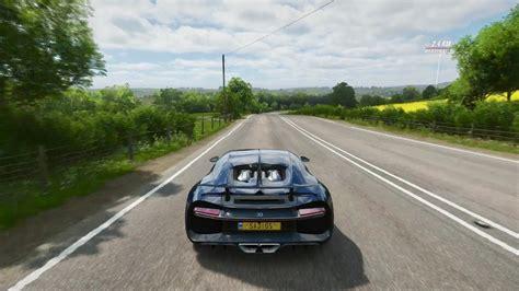 4k, bugatti chiron, forza horizon 4, hypercar. Forza Horizon 4 Bugatti Chiron (60 FPS) - YouTube