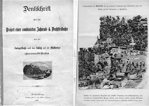 Heidelberger Bergbahnen - The history of the funicular ...