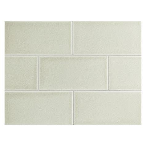ceramic subway tile vermeere ceramic tile pebble green crackle 3 quot x 6 quot subway tile