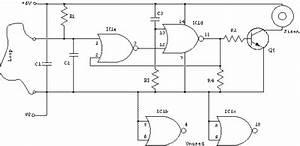 Wire Loop Alarm Circuit Diagram Project