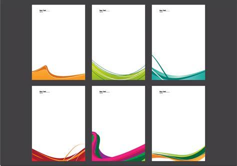 letterhead vector   vector art stock