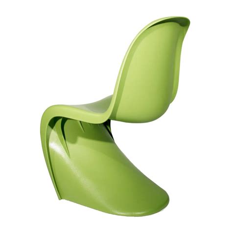 chaise verte verner panton dining chair panton chair design chairs