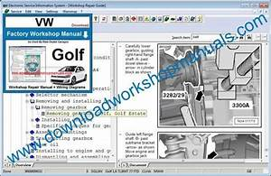 Vw Golf Workshop Manual