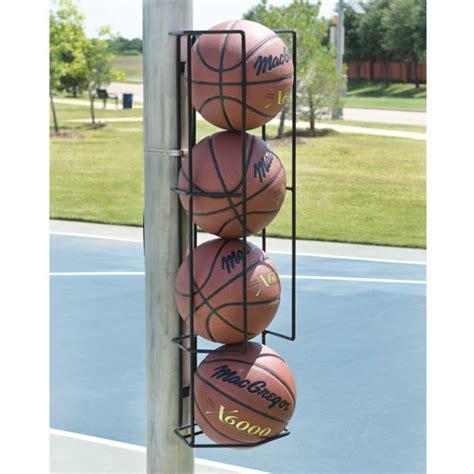 basketball butler ball holder wall  post mount  ball