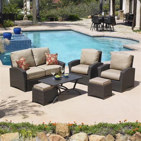 mission santa fe patio furniture reviews