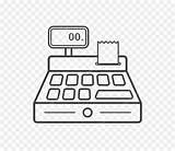 Register Cash Coloring Cashier Cleanpng Contributor Send Message sketch template