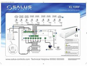 Salus Kl10rf Installation And Wiring Manual Pdf Download