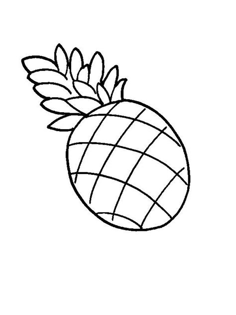 Coloring Clip by Pineapple Coloring Page Clipart Panda Free Clipart Images