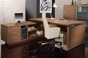 Bureau D Angle Professionnel : meuble haut bureau ensemble bureau et rangement lepolyglotte ~ Teatrodelosmanantiales.com Idées de Décoration