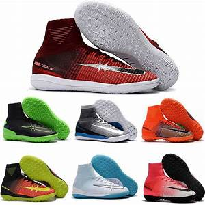2018 2017 Soccer Shoes Mens Indoor Soccer Cleats Cr7 ...
