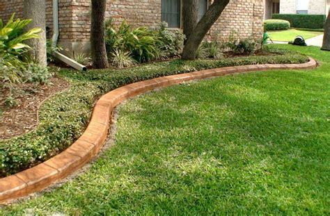decorative curb and concrete decorative landscape curbing ideas walsall home and garden