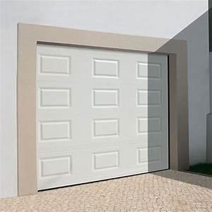 Porte de garage sectionnelle a cassettes porte for Porte de garage a cassette