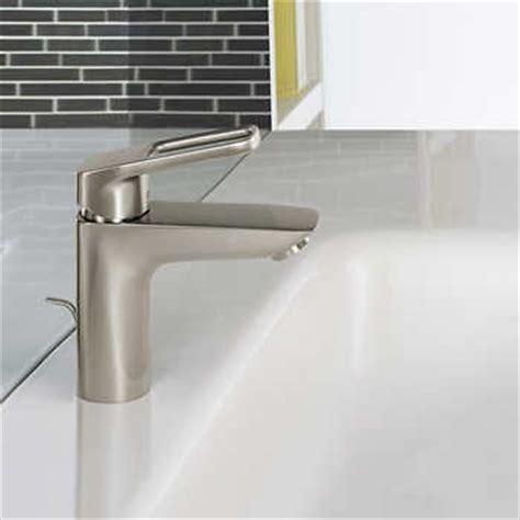 hansgrohe logis loop single bathroom faucet brushed
