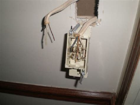 Home Wiring Switch by Changing A Light Switch In A Mobile Home The Home Depot
