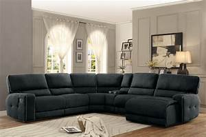 Homelegance keamey reclining sectional sofa set a for Sofa bed and recliner set