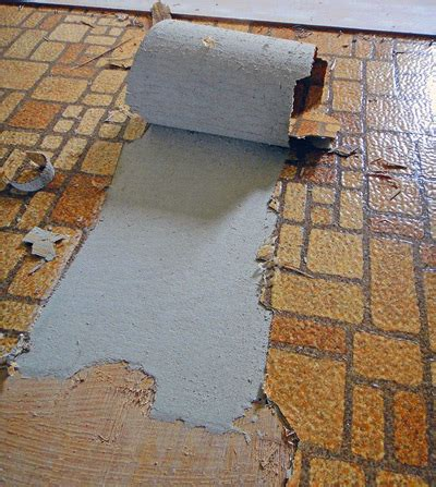asbestos vinyl products history dangers abatement