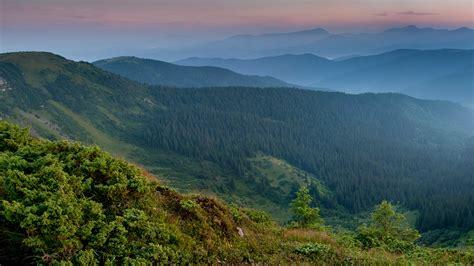 Wallpaper Carpathian Mountains, Ukraine, 4K, Nature, #5927