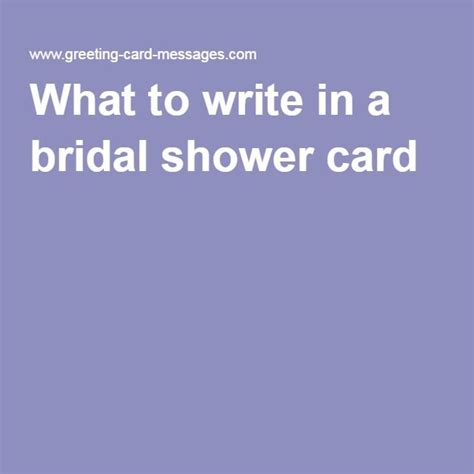 what to write in bridal shower card what to write in a bridal shower card sayings