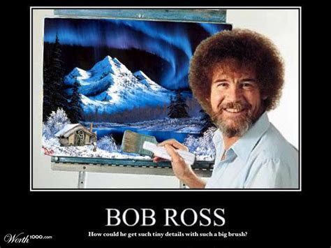 Bob Ross Has To Have A Pond House