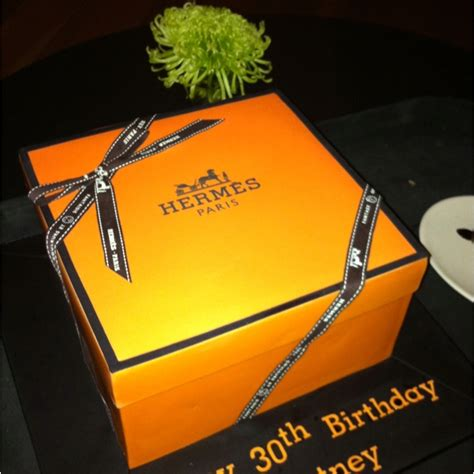 The Most Perfect Hermes Birthday Cake  Weddings And