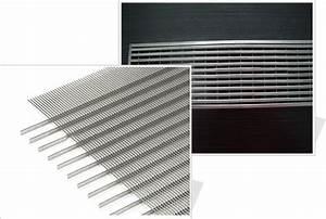 Grille Metal Decorative : wedge wire grilles architectural mesh decorative cladding ~ Melissatoandfro.com Idées de Décoration
