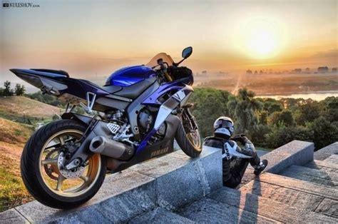 Motorcycle Sunrise, Sunset