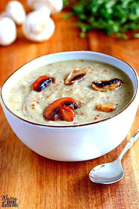 gluten  cream  mushroom soup dairy  vegan