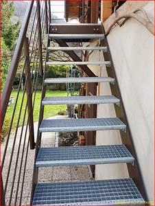 Escalier Exterieur Metal : escalier ext rieur metallerie schuhpaint ~ Voncanada.com Idées de Décoration
