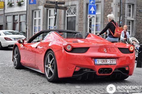 Un cabriolet ferrari, puissant et luxueux la ferrari 458 spider est la version cabriolet du modèle 458 italia, présenté au salon de l'automobile à francfort en 2009 et commercialisé à partir de l'année suivante. Ferrari 458 Spider - 8 June 2020 - Autogespot