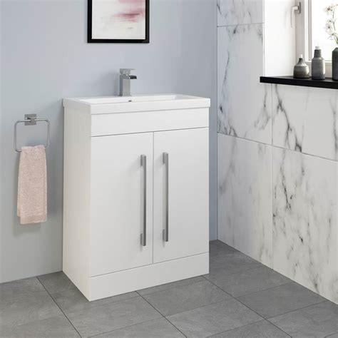 mm bathroom vanity unit basin storage cabinet furniture
