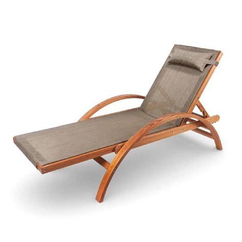 chaise jardin bois chaise longue jardin bois hoze home