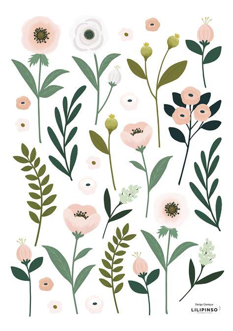 Wandgestaltung Kinderzimmer Blumen by Lilipinso Kinderzimmer Wandsticker Blumen