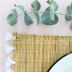 Set De Table Osier : set de table en osier pompons blancs le joli shop ~ Teatrodelosmanantiales.com Idées de Décoration