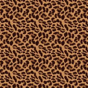 Leopard print iPad background