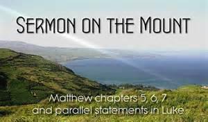 Sermon On the Mount Beatitudes Church