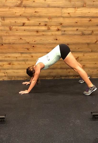 Crossfit Push Handstand Workouts Jump Modified Exercises