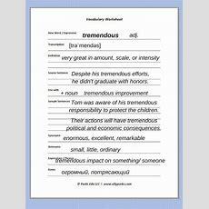 524 Best Esl Vocabulary Workbook Images On Pinterest