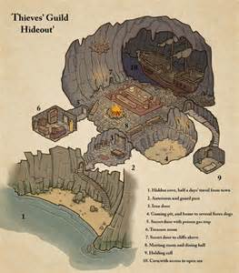 thieves guide hideout map cartography create your own