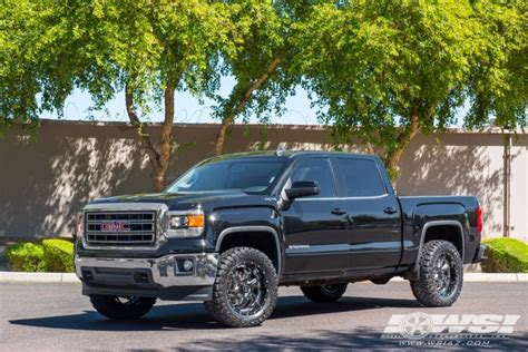 """2015 GMC Sierra with 20"""" SOTA Off Road S.C.A.R. 6 in Black ..."""