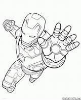Disegni Avengers Colorare sketch template