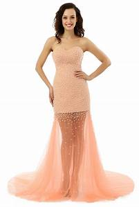 long formal evening dress pearls evening dresses vestido With formal dresses for weddings