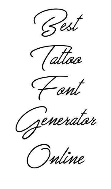 The 25+ best Tattoo lettering generator ideas on Pinterest | Graffiti alphabet fonts, Old