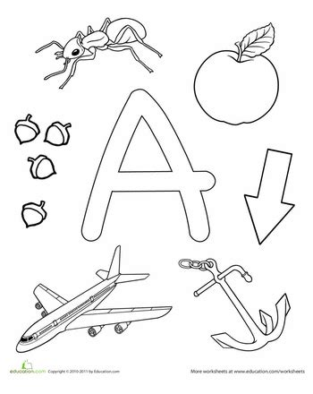 letters of the alphabet stuff for education preschool