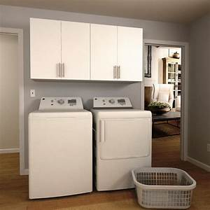 white cabinets for laundry room design decoration With best brand of paint for kitchen cabinets with wall art for laundry room