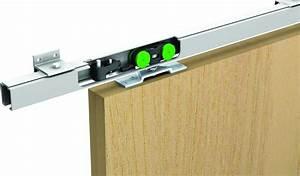Rail Placard Coulissant : systeme coulissant porte suspendue dimension porte placard ~ Premium-room.com Idées de Décoration