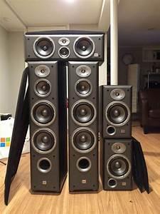 Jbl Ec80 Home Theater Speaker Set E80  E30 And Ec35