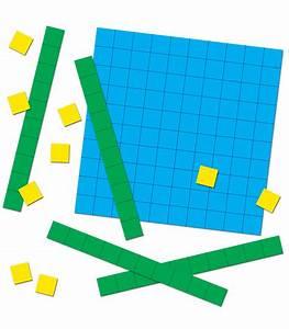 Base Ten Blocks Curriculum Cut