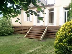 Escalier en bois exotique ipe a bordeaux cauderan for Photos jardins et terrasses 10 escalier en bois exotique ipe a bordeaux cauderan
