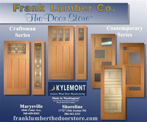 frank lumber the door door storee frank lumber the door seattle